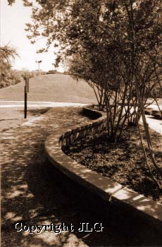 Campus Mounds with Wall
