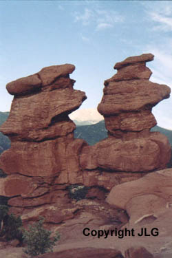 Siamese Twins - Garden of the Gods, Colorado Springs, CO