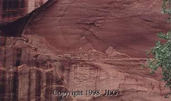 Pictographs - Canyon De Chelly Nat'l Monument, AZ