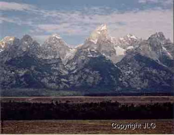 Teton Landscape - Grand Teton National Park, WY