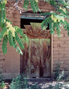 New Mexico Doorway - Santa Fe, NM