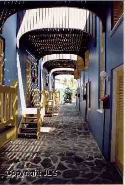 Yellow & Blue Atrium - Tortola, B.V.I.